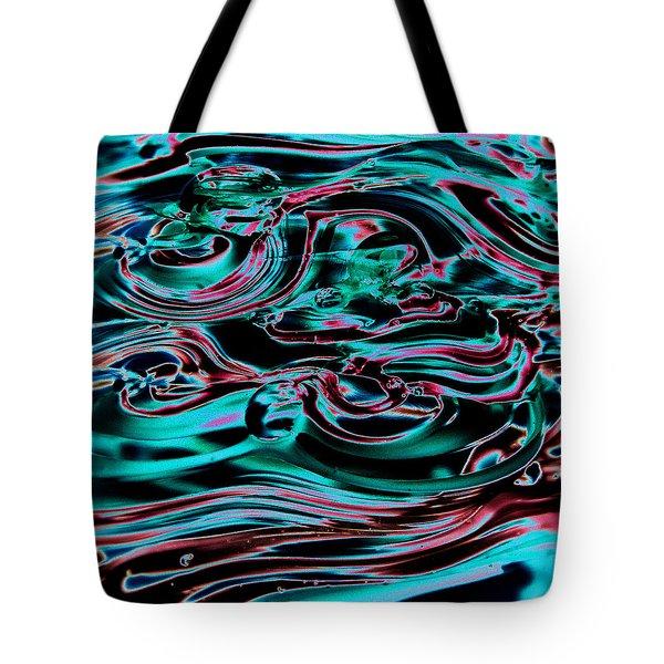 Glass Macro IIia Tote Bag by David Patterson
