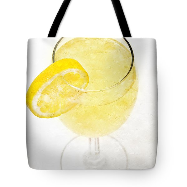 Glass Of Lemonade Tote Bag by Andee Design