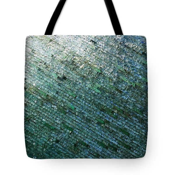 Glass Strata Tote Bag