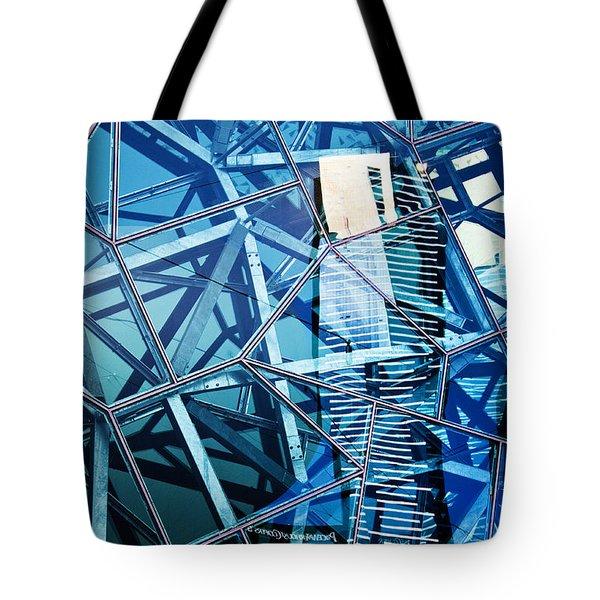 Glasshouse City Tote Bag by Andrew Paranavitana