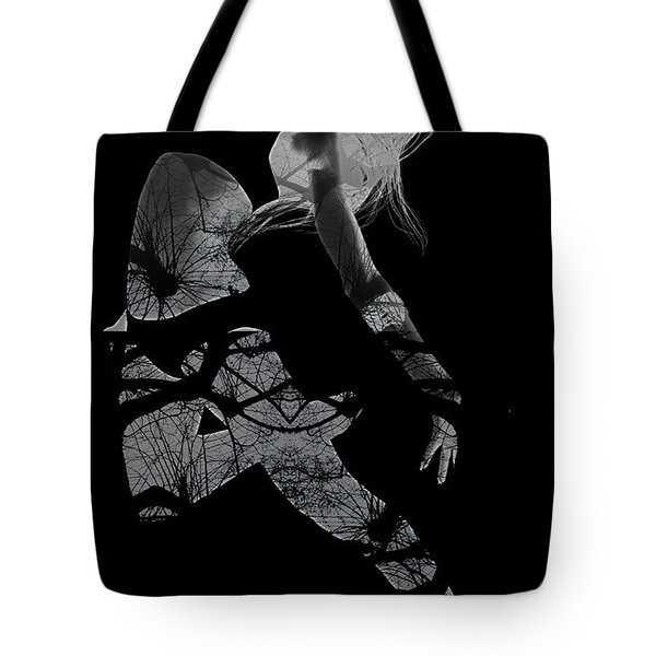 Gliding Tote Bag by Naxart Studio