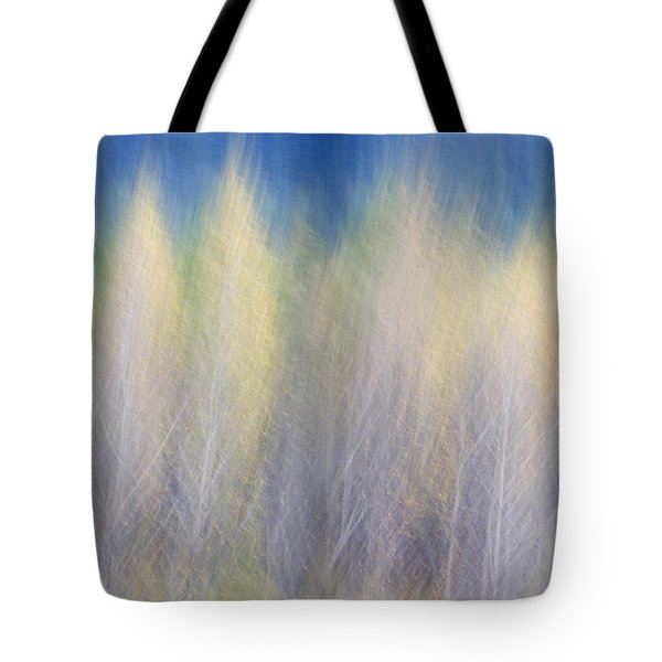 Glimpse Of Trees Tote Bag