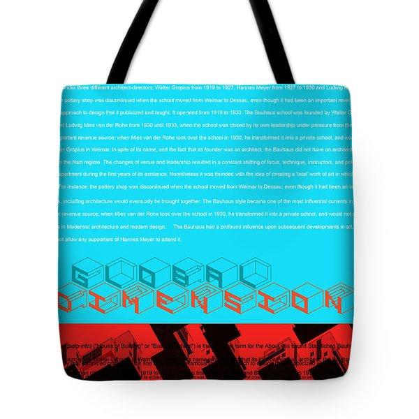 Global Dimension Tote Bag