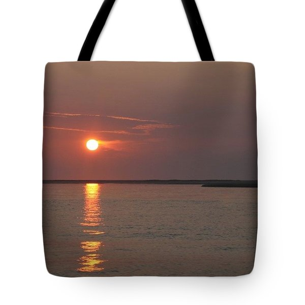 Glorious Chatham Sunrise   Tote Bag