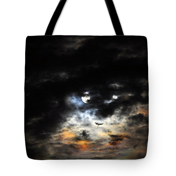 Glorious Gibbous - Wide Version Tote Bag by Al Powell Photography USA