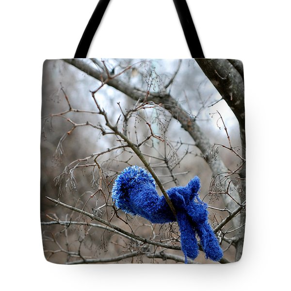Glove Lost Tote Bag by Lisa Phillips
