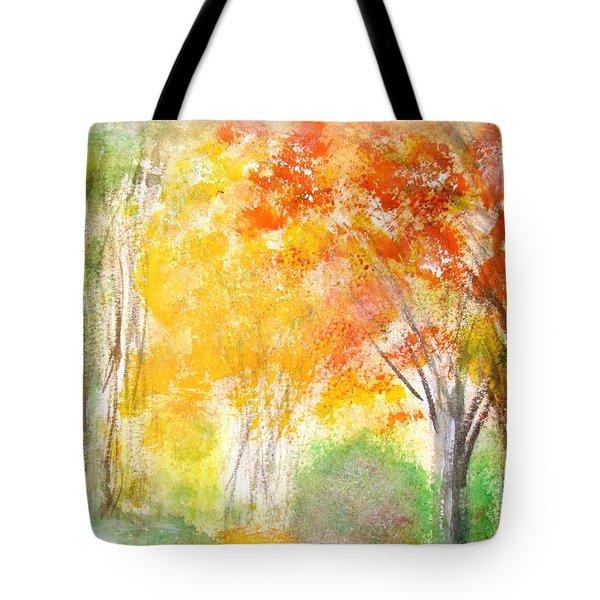 Glow Tote Bag by Edie Schmoll