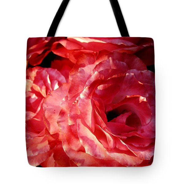 Tote Bag featuring the photograph Go Big Red by Carol Sweetwood