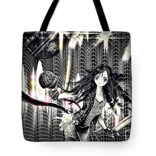 Go Dance Tote Bag by Mo T