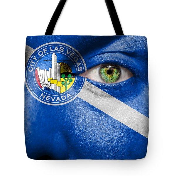 Go Las Vegas Tote Bag by Semmick Photo