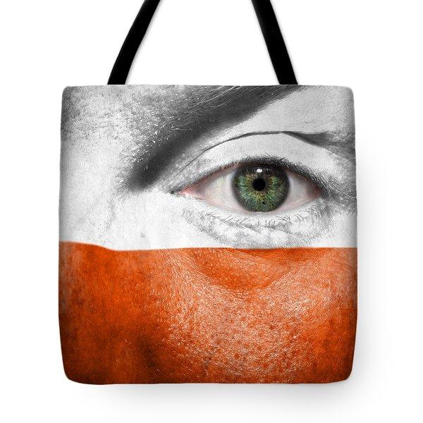 Go Poland Tote Bag by Semmick Photo