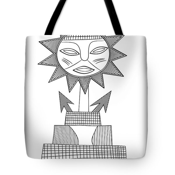 God Of Sun Tote Bag by Michal Boubin