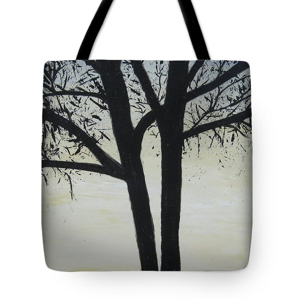 God Whispers Tote Bag