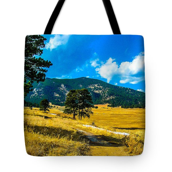 Tote Bag featuring the photograph God's Country by Shannon Harrington
