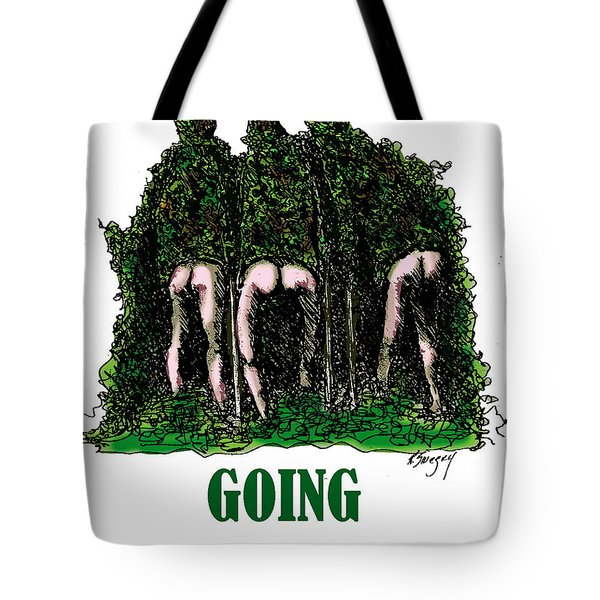Going Commando Tote Bag