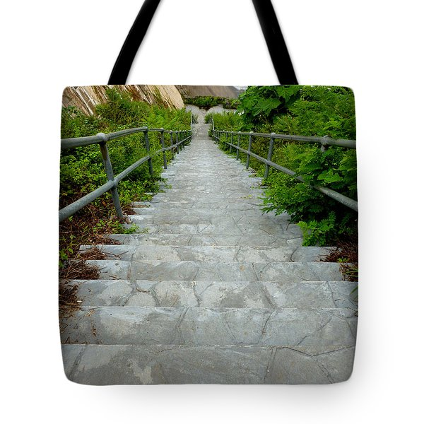 Going Down Tote Bag by Mark Dodd