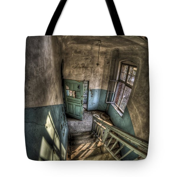 Going Down  Tote Bag by Nathan Wright