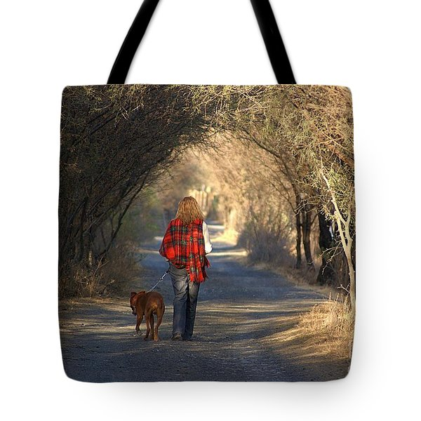 Going For A Walk  The Photograph Tote Bag