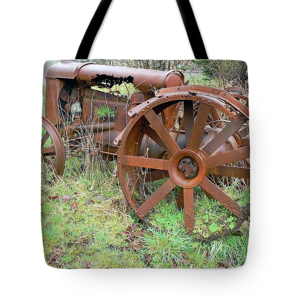 Going Green With Fordson  Tote Bag by Pamela Patch