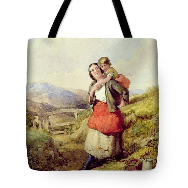 Going Home Tote Bag by William Lee