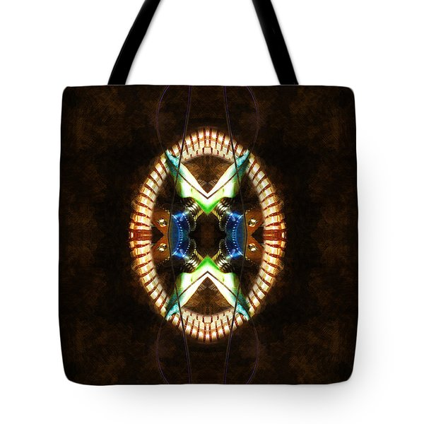 Going In For The Cut Tote Bag by Adam Vance