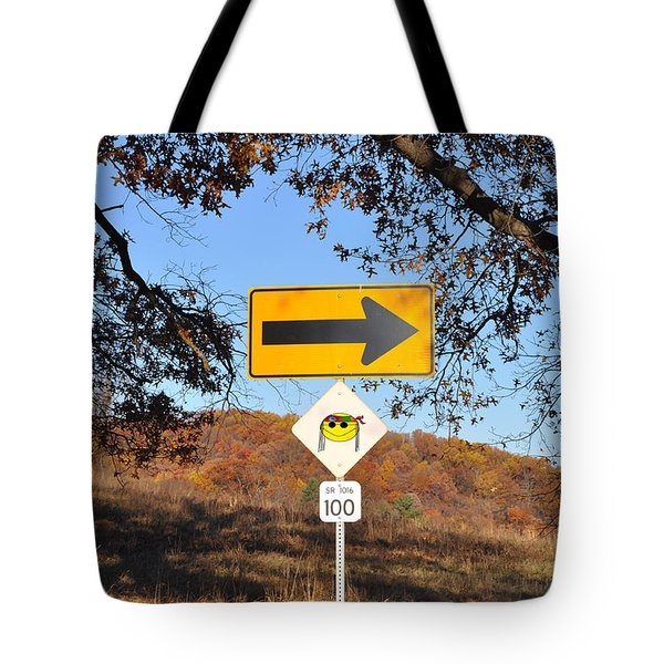 Going My Way Tote Bag by Bill Cannon