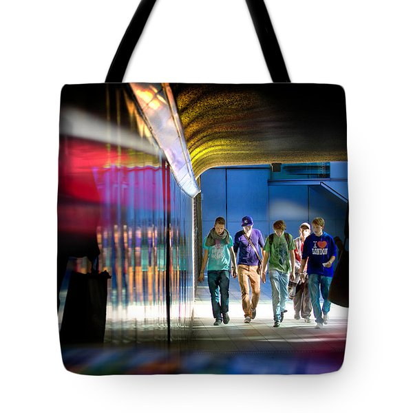 Going Places Tote Bag