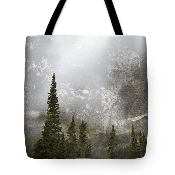 Going To The Sun Road Tote Bag by John Stephens