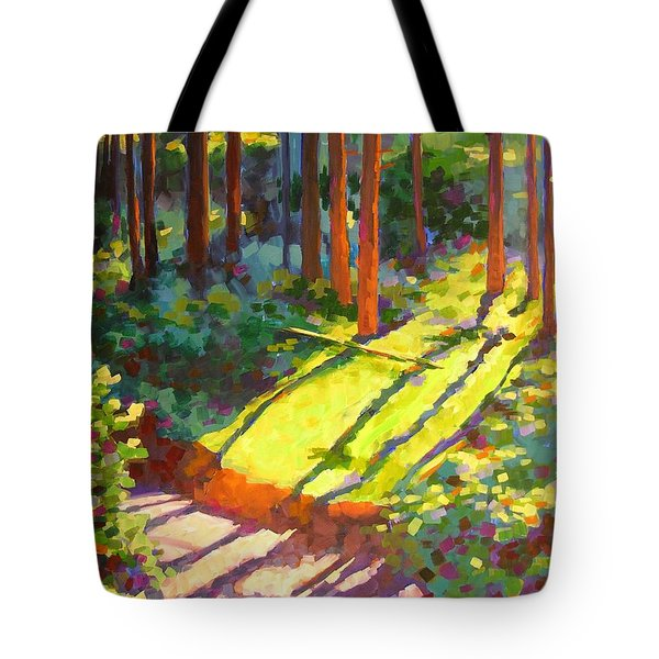 Gold Creek Trail Tote Bag by Mary McInnis