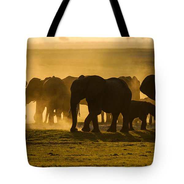 Gold Dust Gathering Tote Bag