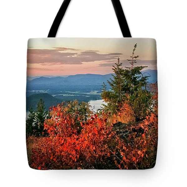 Gold Hill Sunset Tote Bag by Albert Seger