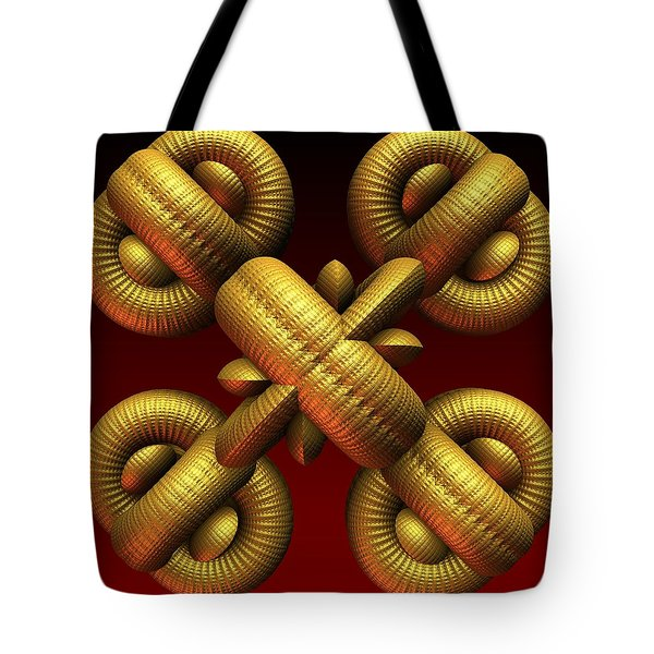 Gold One Tote Bag by Lyle Hatch