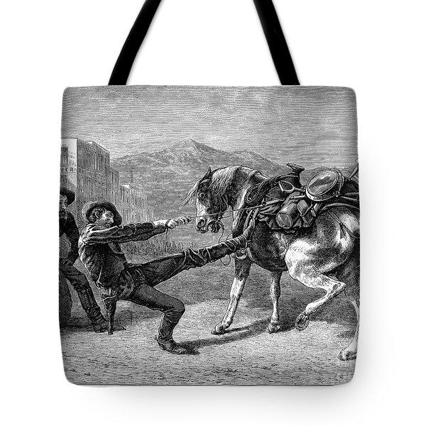Gold Prospectors, 1876 Tote Bag by Granger