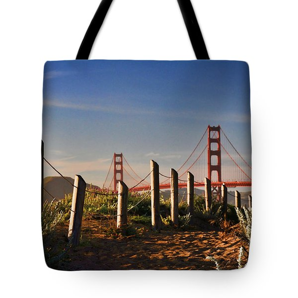 Golden Gate Bridge - 2 Tote Bag
