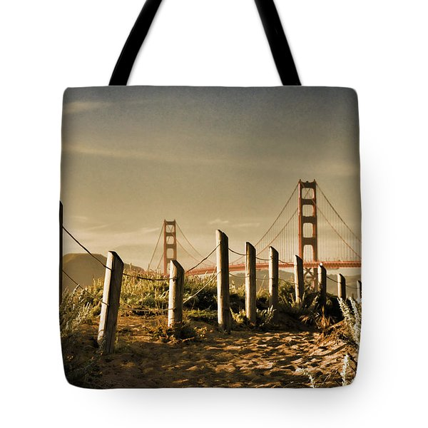 Golden Gate Bridge - 3 Tote Bag