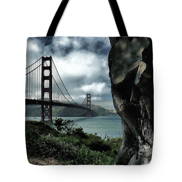 Golden Gate Bridge - 4 Tote Bag