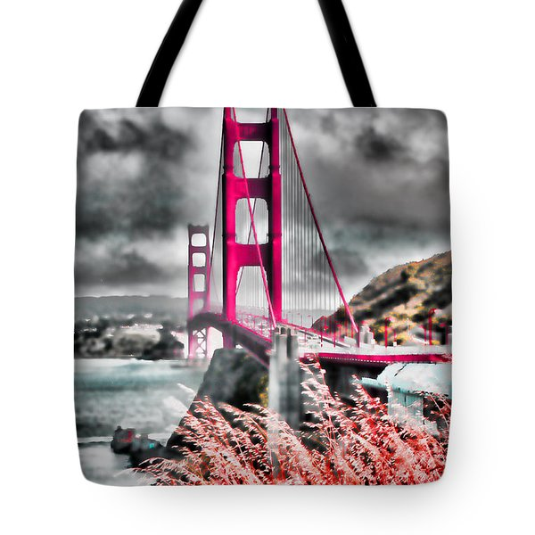 Golden Gate Bridge - 5 Tote Bag