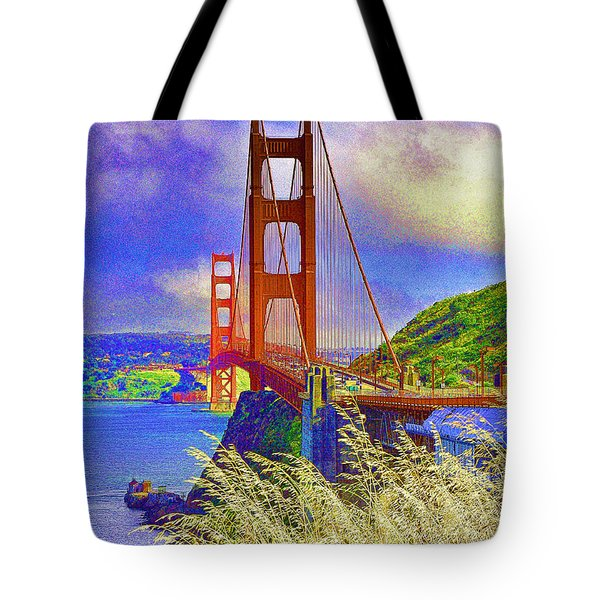 Golden Gate Bridge - 6 Tote Bag