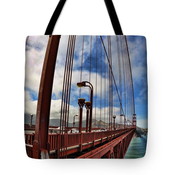 Golden Gate Bridge - 7 Tote Bag