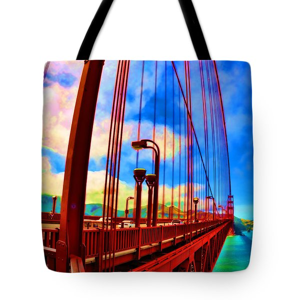 Golden Gate Bridge - 8 Tote Bag