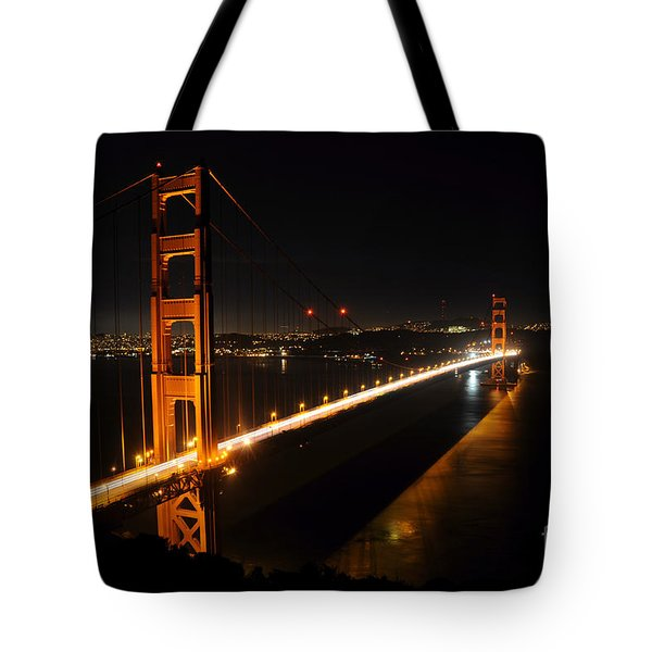 Tote Bag featuring the photograph Golden Gate Bridge 2 by Vivian Christopher
