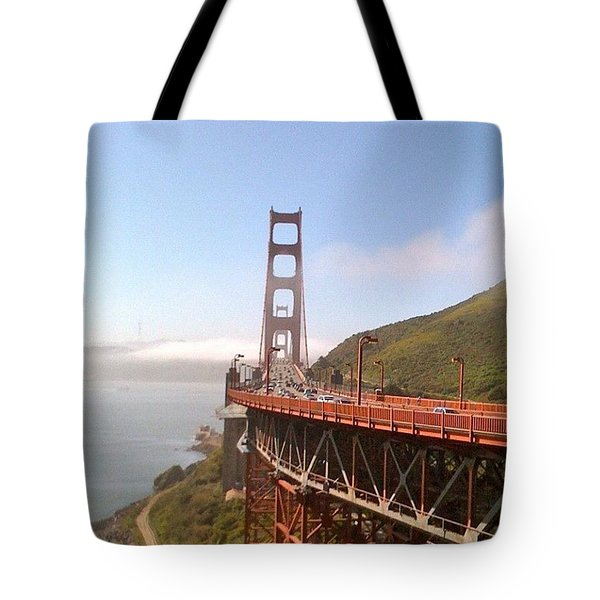 Golden Gate Bridge - San Francisco Ca Tote Bag