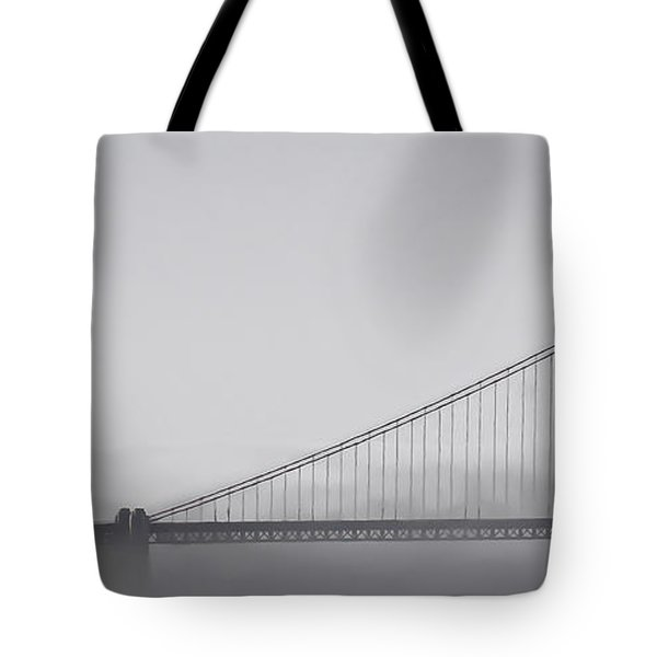 Tote Bag featuring the photograph Golden Gate Morning by Don Schwartz