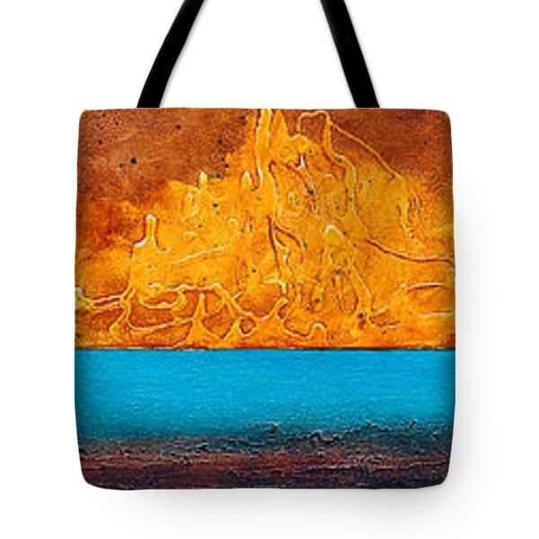 Golden Island  Tote Bag by Mauro Celotti