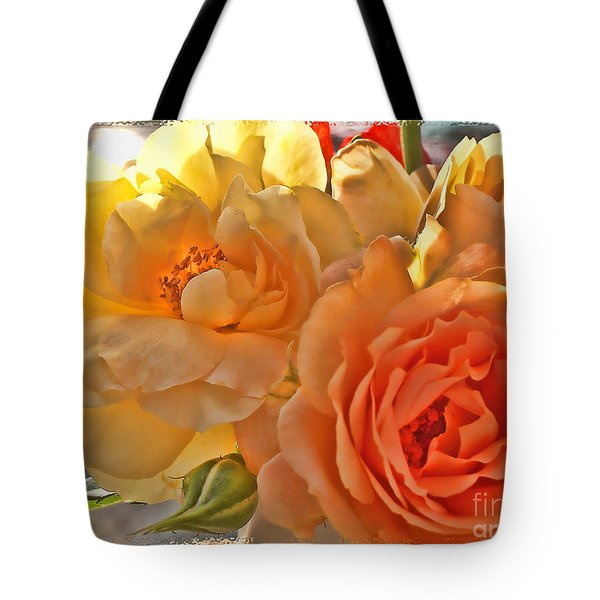 Tote Bag featuring the photograph Golden Light by Debbie Portwood