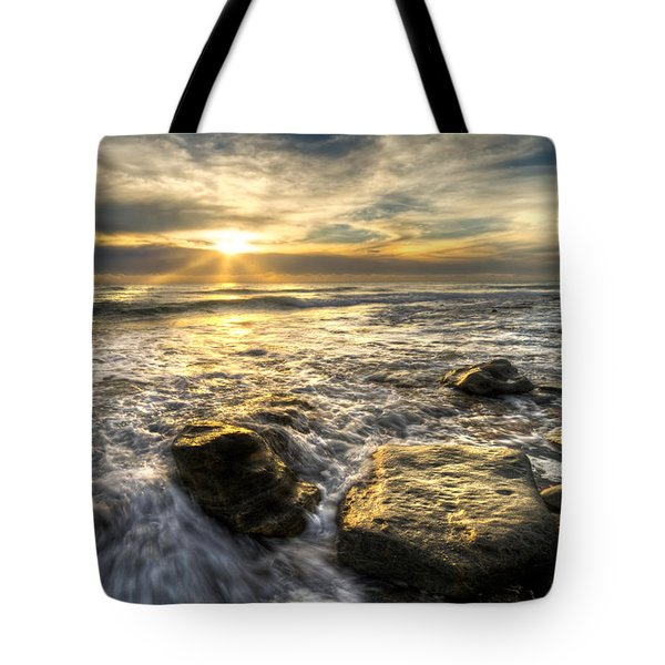 Golden Nuggets Tote Bag by Debra and Dave Vanderlaan