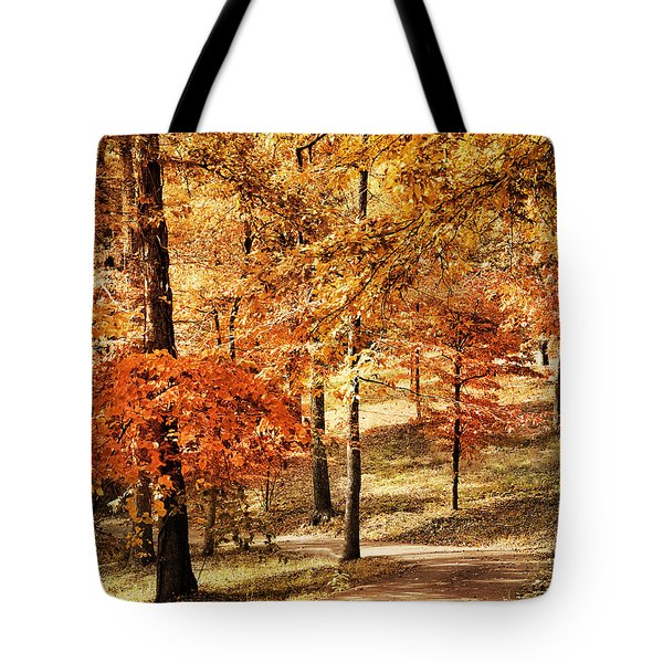 Golden Path Tote Bag by Jai Johnson