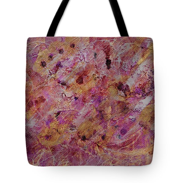 Golden Raspberries Painting Tote Bag