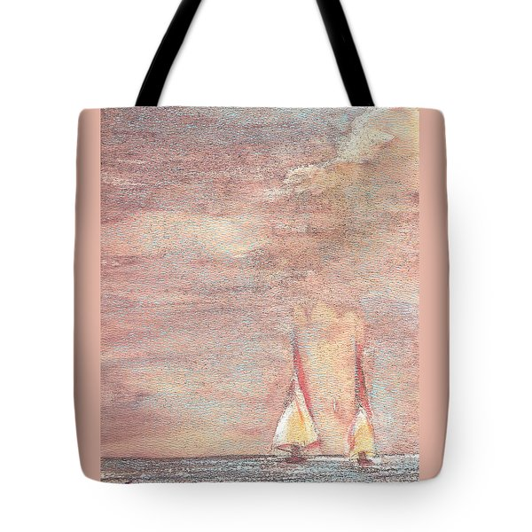 Golden Sails Tote Bag
