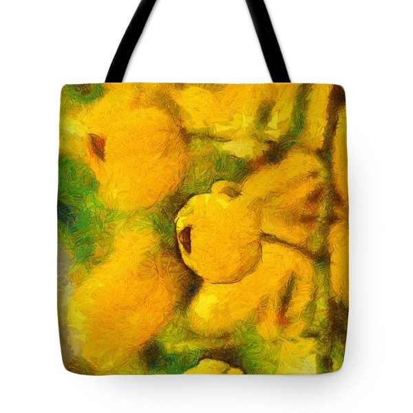 Golden Shower Tote Bag
